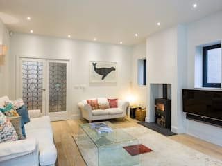 Muswell Hill House 1, London N10 Jones Associates Architects Living room