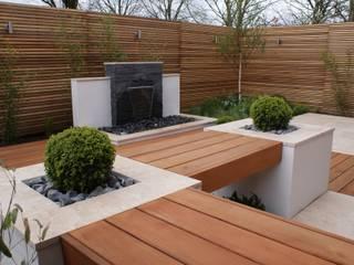de estilo  de Hannah Collins Garden Design, Moderno