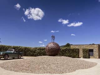 Garden by VelezCarrascoArquitecto VCArq, Rustic