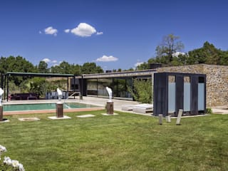 VelezCarrascoArquitecto VCArq Rustic style garden