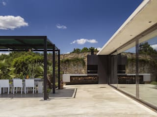 VelezCarrascoArquitecto VCArq Garden Fire pits & barbecues