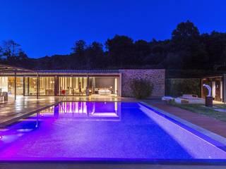 Casas de campo de estilo  por VelezCarrascoArquitecto VCArq