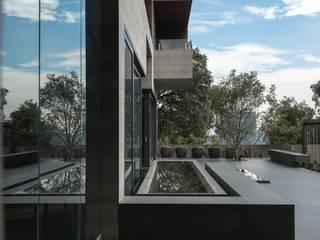 BB Residence Balcone, Veranda & Terrazza in stile moderno di Gantous Arquitectos Moderno