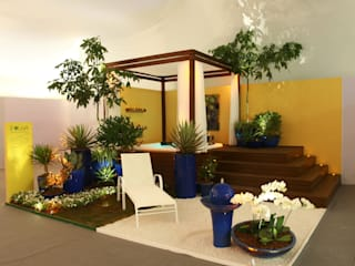 Spa de estilo  por Folha Paisagismo, Moderno