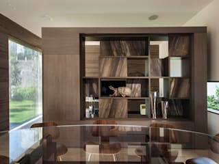 ML Residence:  Dining room by Gantous Arquitectos