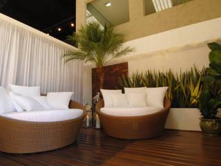 Terrazas de estilo  por Folha Paisagismo, Moderno
