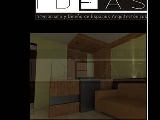 Módulo de Recepción: Estudios y oficinas de estilo  por Estudio Ideas