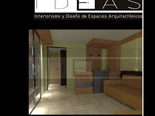 Estudios y despachos de estilo  por Estudio Ideas