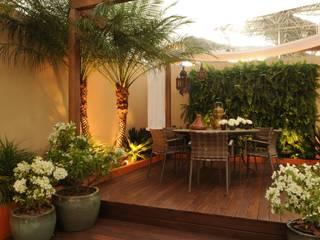 Jardines de estilo rústico por Folha Paisagismo