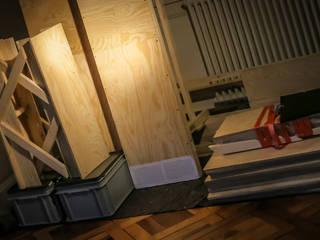 DIY im Wohnzimmer: industriell  von Stubenflieger,Industrial