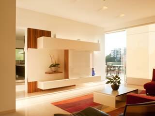 Casa AV: Salas de estilo  por Gantous Arquitectos