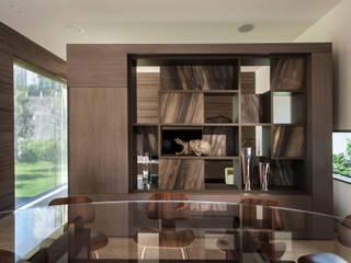Casa ML Comedores modernos de Gantous Arquitectos Moderno