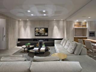Apartamento Gutierrez: Salas de estar  por Fernanda Sperb Arquitetura e interiores,Moderno