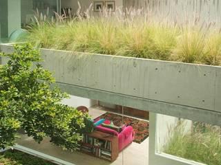 Hiên, sân thượng phong cách hiện đại bởi Gantous Arquitectos Hiện đại