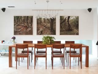 Penthouse Polanco: Comedores de estilo  por Gantous Arquitectos