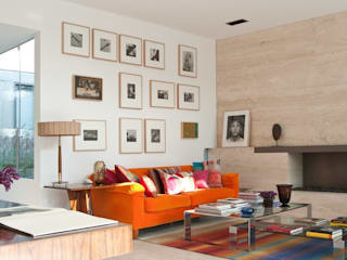 Living room by Gantous Arquitectos, Modern