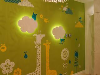 Оформление детской на частной квартире Детские комната в эклектичном стиле от 33dodo Эклектичный