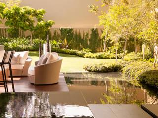 Casa SJ: Terrazas de estilo  por Gantous Arquitectos