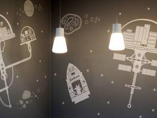 """Оформление стен офиса фирмы """"ДИКОМ"""" Офисы и магазины в эклектичном стиле от 33dodo Эклектичный"""