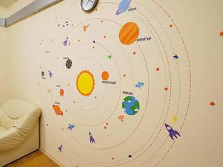 Оформление детского садика в Люберцах Школы в эклектичном стиле от 33dodo Эклектичный