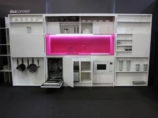 Pop-up kitchen PIA - Web (KL458SIAAZ) by Dizzconcept 모던