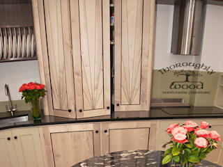 Art Deco Eclectic style kitchen by Thoroughly Wood Eclectic
