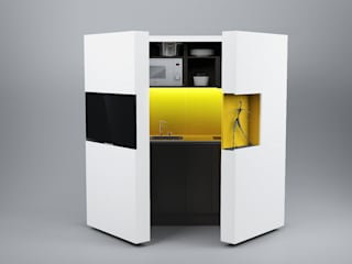 Pop-up kitchen PIA - Web by Dizzconcept Modern