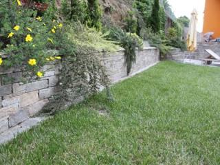Mediterranean style garden by Luserna Stone Mediterranean