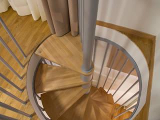Pasillos, vestíbulos y escaleras de estilo minimalista de PROJECT AB Minimalista