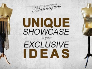 UNIQUE SHOWCASE for EXCLUSIVE IDEAS od AM Florence Minimalistyczny
