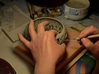 """la nascita di un """"Dedalo"""":  in stile  di DeBa Ceramiche"""