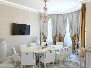 Студия дизайна интерьера Маши Марченко Cocinas de estilo clásico