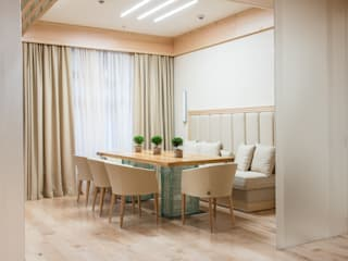Апартаменты на Кутузовском Столовая комната в стиле минимализм от Premier Dekor Минимализм