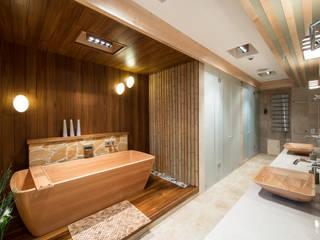 Апартаменты на Кутузовском Premier Dekor Ванная комната в стиле минимализм
