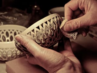 Serie Dalia di DeBa Ceramiche Eclettico
