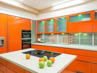 Апартаменты на Кутузовском Premier Dekor Кухня в стиле минимализм