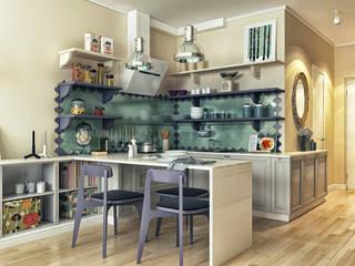 廚房 by sreda, 現代風