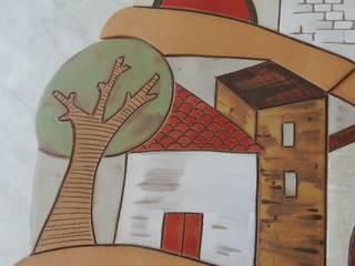 rivestimento per cucina di OFFICINA CERAMICA ARTISTICA Rustico