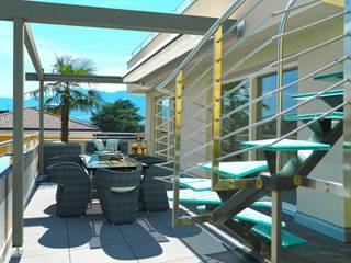 Balcon, Veranda & Terrasse modernes par Grendene Design Moderne
