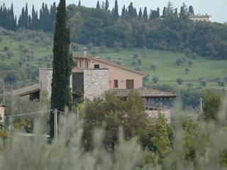 Villa in Campagna ad Assisi Studio di Bioarchitettura Brozzetti Adriano Casa rurale