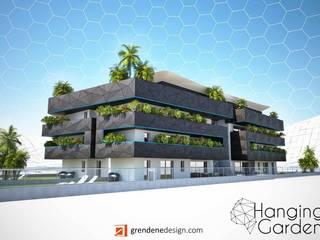現代房屋設計點子、靈感 & 圖片 根據 Grendene Design 現代風