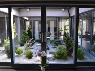 Autorskie Studio Projektu QUBATURA Moderner Balkon, Veranda & Terrasse