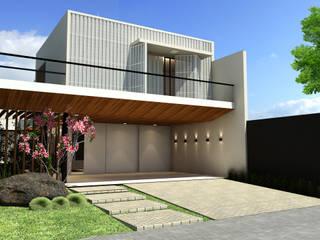 Rumah Modern Oleh Quattro+ Arquitetura Modern