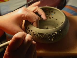 La nascita di un Dedalo:  in stile  di DeBa Ceramiche