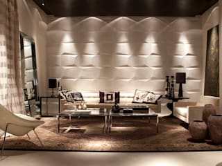 Salones de estilo  de dsgnduo, Moderno