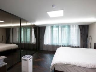 인천 부평 동아2단지 63평형: MID 먹줄의  침실