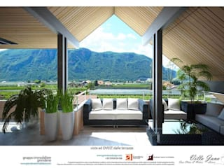 Teras oleh Grendene Design, Modern