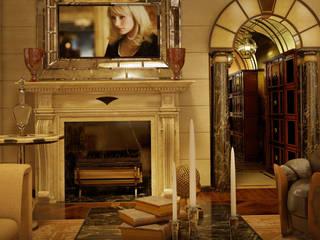 Residenza Privata a Mosca Sala da pranzo in stile classico di motik Classico