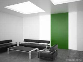 RENDERING ARCHITETTONICI INTERNI_01:  in stile  di Mario Longo