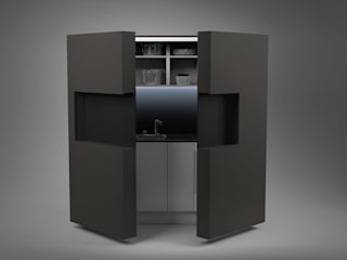 Pop-up kitchen PIA - Prime de Dizzconcept Moderno